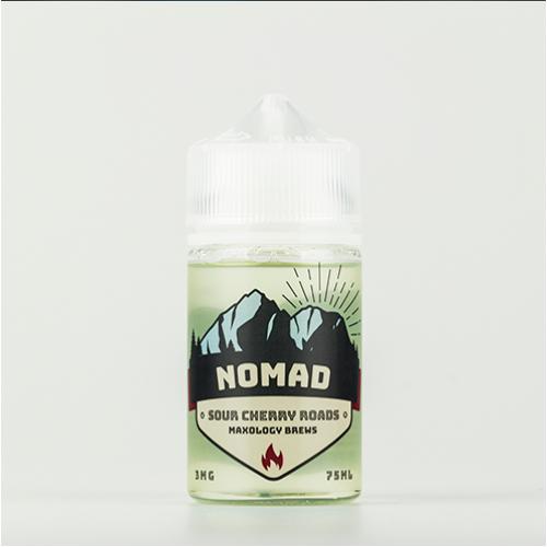 Жидкость Nomad - Sour Cherry Roads ICE 75 мл.