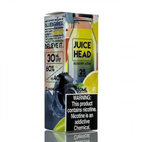 Жидкость на солевом никотине Juice Head Salt - Blueberry Lemon 30 мл.