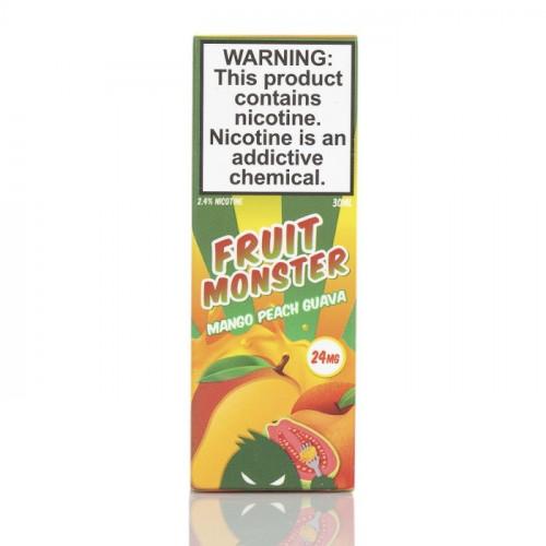 Жидкость на солевом Fruit Monster Salt - Mango Peach Guava 30 мл.