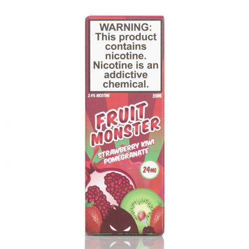 Жидкость на солевом никотине Fruit Monster Salt - Strawberry Kiwi Pomegranate 30 мл.