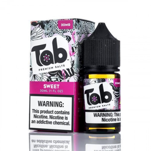 Жидкость на солевом никотине Tab Premium Salts - Sweet Swordbreaker 30 мл.