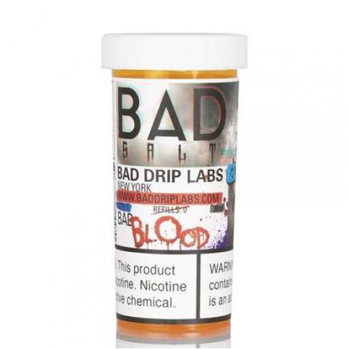Жидкость на солевом Bad Salt - Bad Blood by Bad Drip 30 мл.
