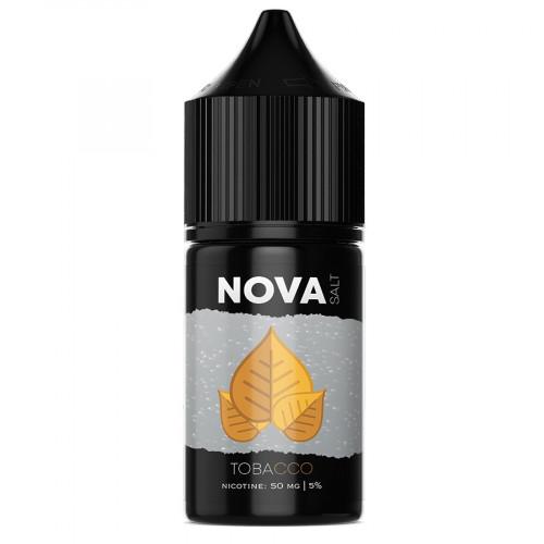Жидкость на солевом никотине NOVA Salt - TOBACCO 30 мл.