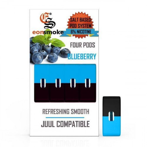 Картриджи для JUUL - Eonsmoke Pods - Blueberry 6%
