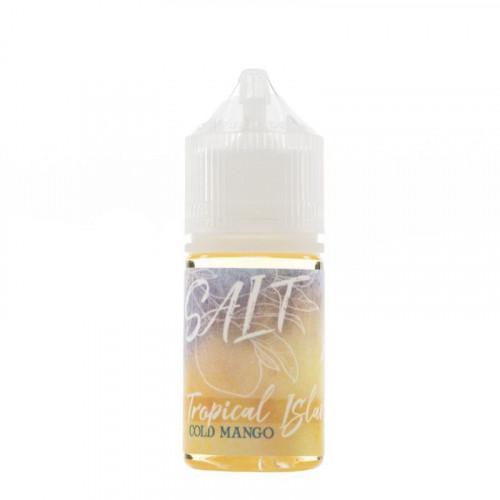 Жидкость на солевом никотине Tropical Island Salt - Cold Mango 30 мл.