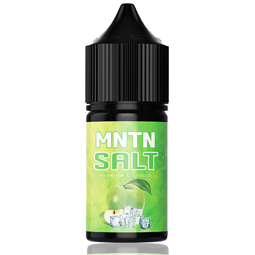 Жидкость на солевом никотине MNTN Salt - Ice Apple 30 мл.