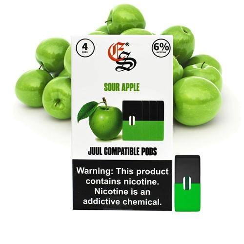 JUUL Pods (картридж) - Eonsmoke Pods - Sour Apple 6%