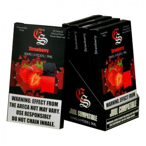 Картриджи для JUUL - Alkaloid - Strawberry (Eonsmoke) 5%