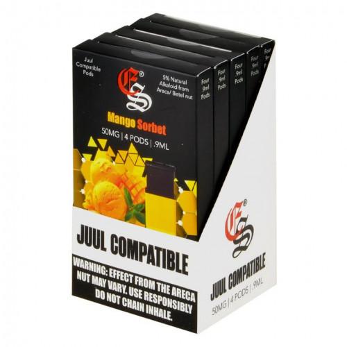 JUUL Pods (картридж) - Alkaloid - Mango Sorbet (Eonsmoke) 5%