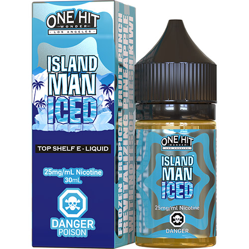 Жидкость для pod систем One Hit Wonder Salts - Island Man ICED 30 мл.