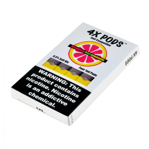 Картриджи для JUUL - 4X Pods - Raspberry Mint Lemonade 6%