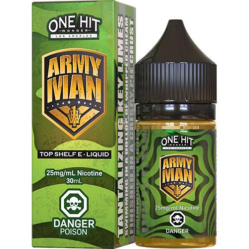 Жидкость на солевом One Hit Wonder Salts - Army Man 30 мл.