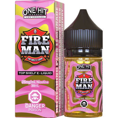 Жидкость на солевом One Hit Wonder Salts - Fire Man 30 мл.