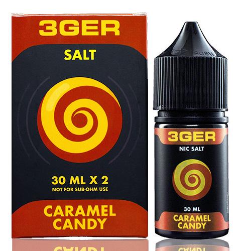 Жидкость для pod систем 3GER Salt - Caramel Candy 30 мл.