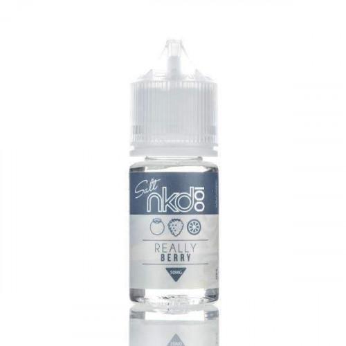 Жидкость на солевом никотине Naked 100 Salt - Really Berry 30 мл.