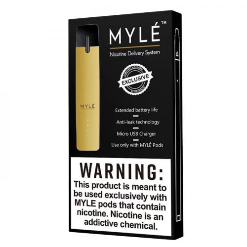 Электронная сигарета Myle Vapor Device only (Gold) - Оригинал