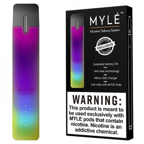 Электронная сигарета Myle Vapor Device only (Cosmic Rainbow) - Оригинал