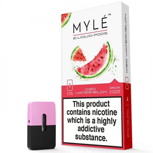 Картридж Myle Pods - Iced Watermelon (4 шт.)