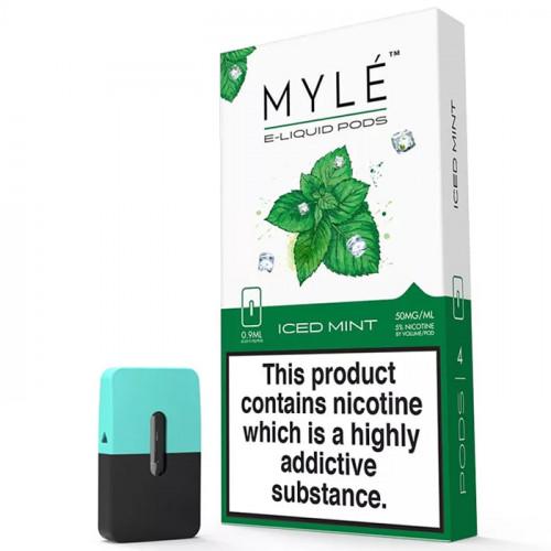 Картриджи Myle Pods - Iced Mint 5% (4 шт.)