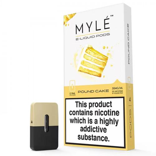 Картриджи Myle Pods - Pound Cake 5% (4 шт.)
