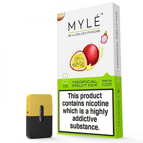 Картриджи Myle Pods - Tropical Fruit Mix (4 шт.)