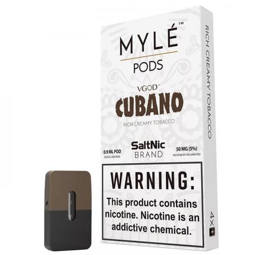 Картриджи Myle Pods - VGOD Cubano 5% (4 шт.)