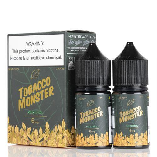 Премиум жидкость Tobacco Monster - Menthol 30 мл.