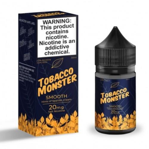Жидкость на солевом никотине Tobacco Monster Salt - Smooth 30 мл.