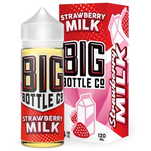 Премиум жидкость Big Bottle - Strawberry Milk 120 мл.