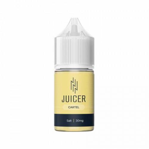 Жидкость на солевом никотине Juicer Salt - Cartel 30 мл.