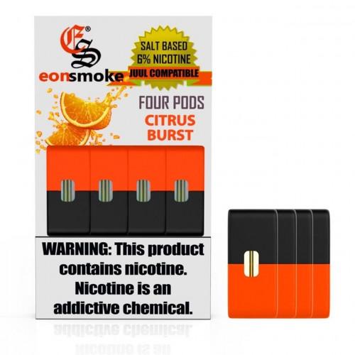 Картриджи для JUUL - Eonsmoke Pods - Citrus Burst 6%