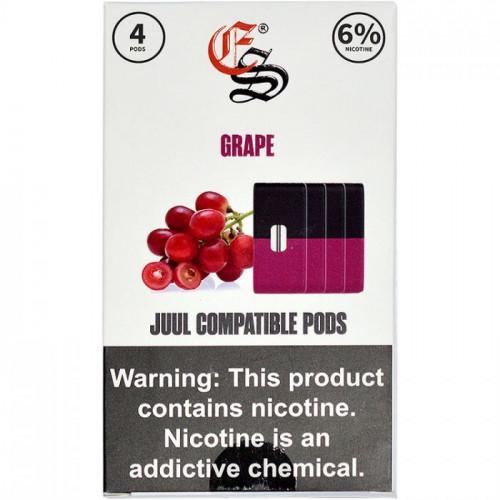 Альтернативные картриджи - Eonsmoke Pods - Grape 6%