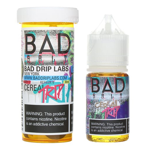 Жидкость на солевом никотине Bad Salt - Cereal Trip by Bad Drip 30 мл.