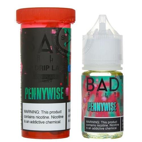 Жидкость на солевом никотине Bad Salt - Pennywise by Bad Drip 30 мл.