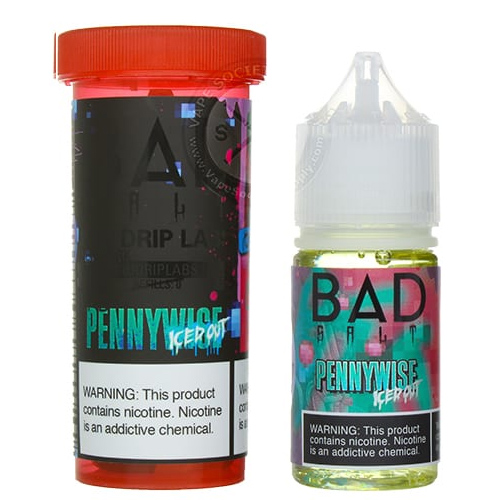 Жидкость для pod систем Bad Salt - Pennywise iCED Out by Bad Drip 30 мл.
