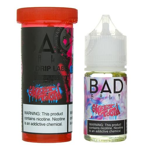 Жидкость для pod систем Bad Salt - Sweet Tooth by Bad Drip 30 мл.