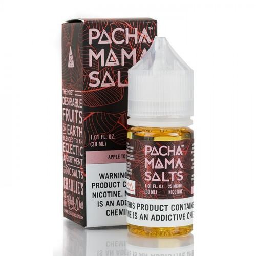 Жидкость на солевом никотине Pachamama Salts - Apple Tobacco 30 мл.