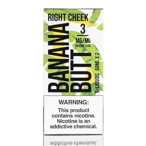Жидкость для вейпа Banana Butt - Right Cheek by FRYD 60 мл.