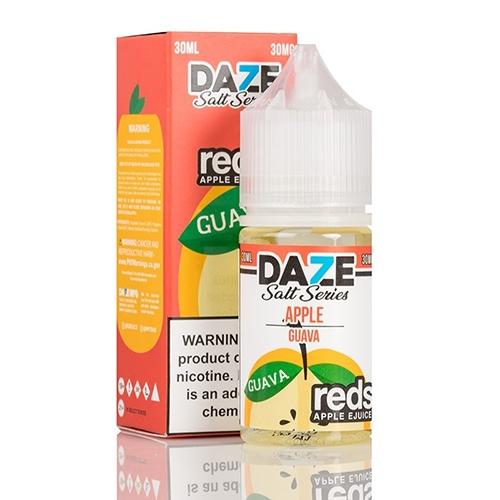 Жидкость на солевом никотине 7 Daze SALT - Reds Guava 30 мл.