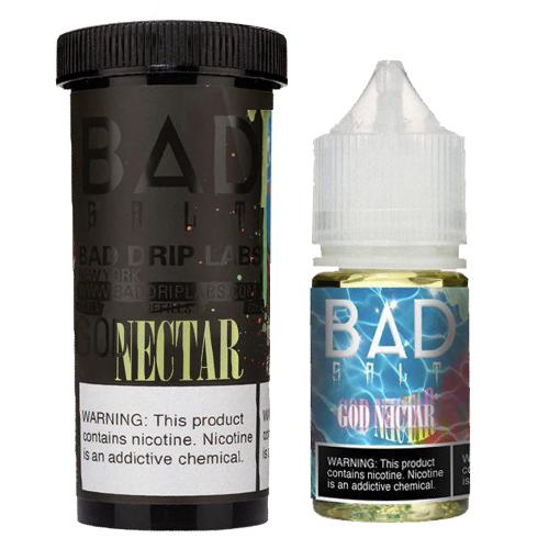 Жидкость на солевом никотине Bad Salt - God Nectar by Bad Drip 30 мл.