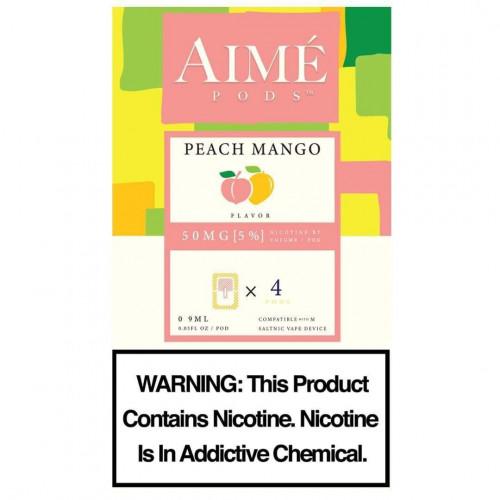 Картриджи Aime Pods - Peach Mango 5%