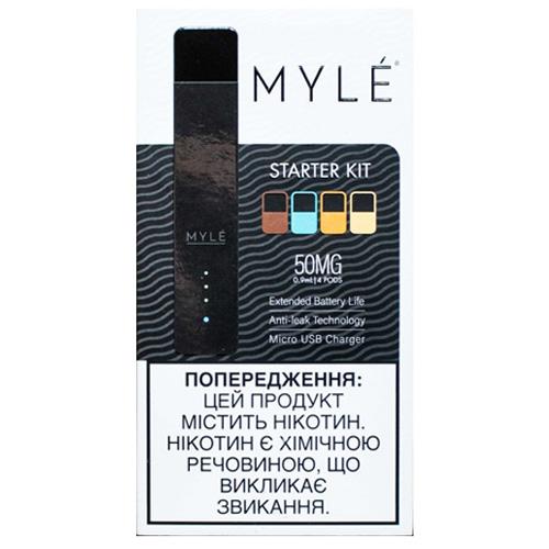 Pod - система Myle Vapor Starter Kit Magnetic V4 (Jet Black)