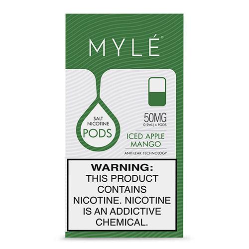 Картриджи Myle Pods Magnetic V4 - Iced Apple Mango (4 шт.)