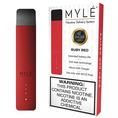 Pod система Myle Vapor Device Only Magnetic Edition (Ruby Red)