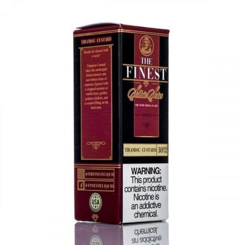 Жидкость на солевом The Finest Salt - Tiramisu Custard 30 мл.