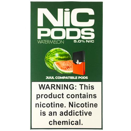 Картриджи для JUUL - Nic Pods - Watermelon 5%