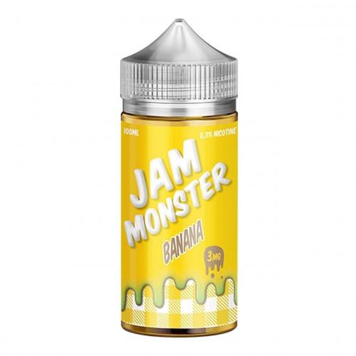 Премиум жидкость Jam Monster - Banana 100 мл.