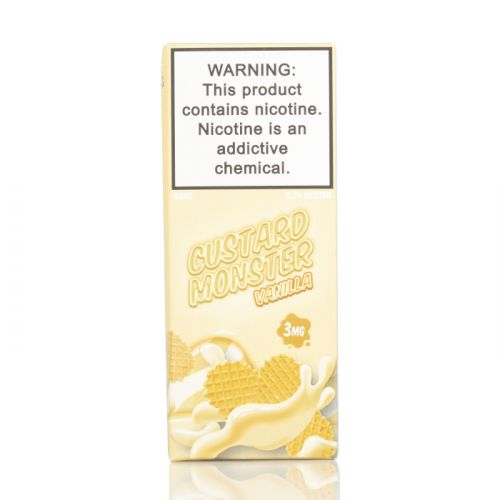 Премиум жидкость Custard Monster - Vanilla Custard 100 мл.