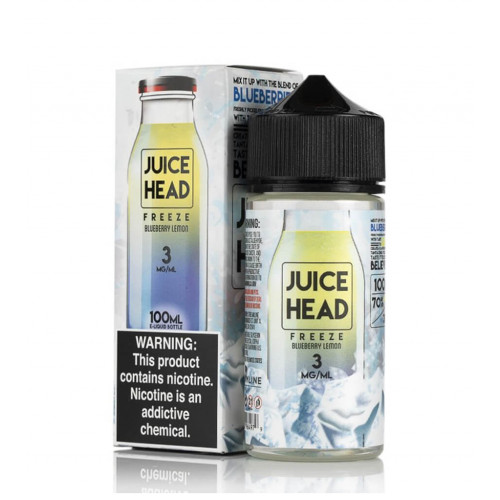 Премиум жидкость Juice Head Freeze - Blueberry Lemon 100 мл.