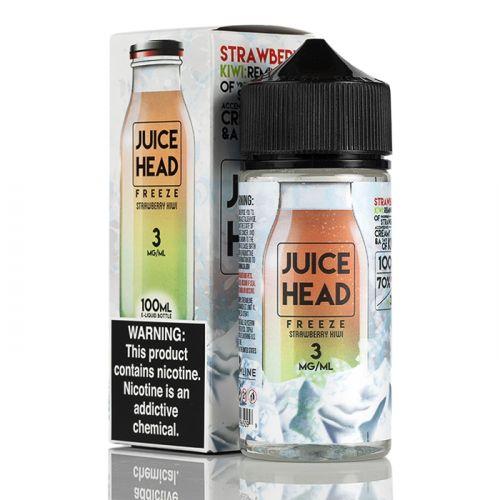 Премиум жидкость Juice Head Freeze - Strawberry Kiwi 100 мл.